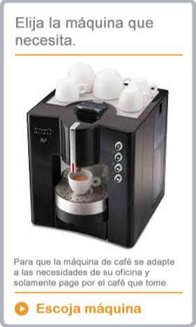 ESCOJA MÁQUINA DE CAFÉ